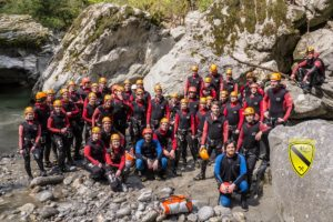 Canyoning Firmenevent
