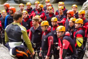 Canyoning Event
